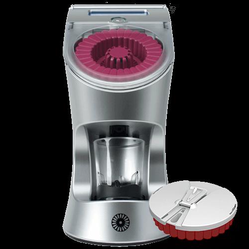Image of the Tespo Dispenser with a Tespo Go