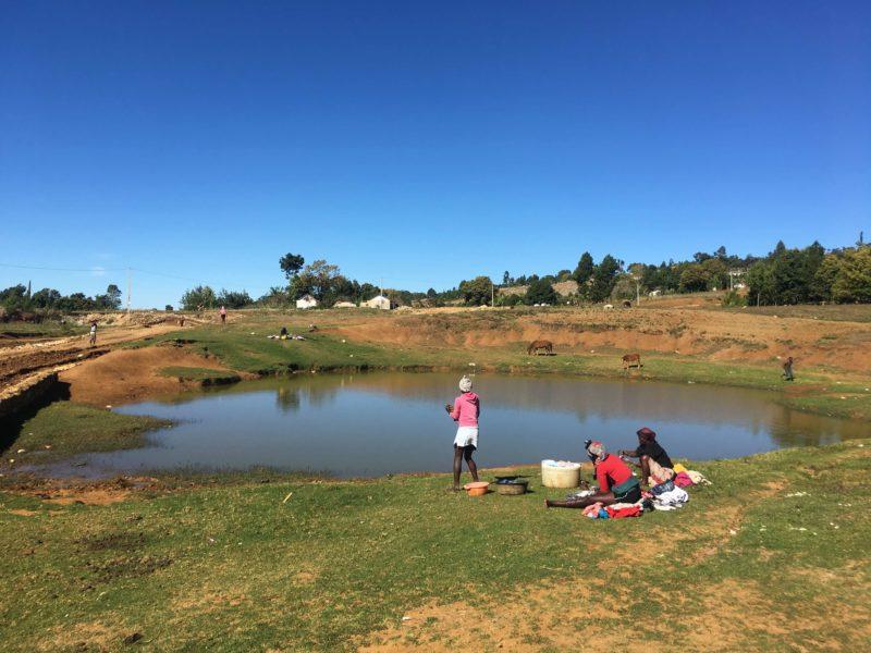 Seguin Haiti pond