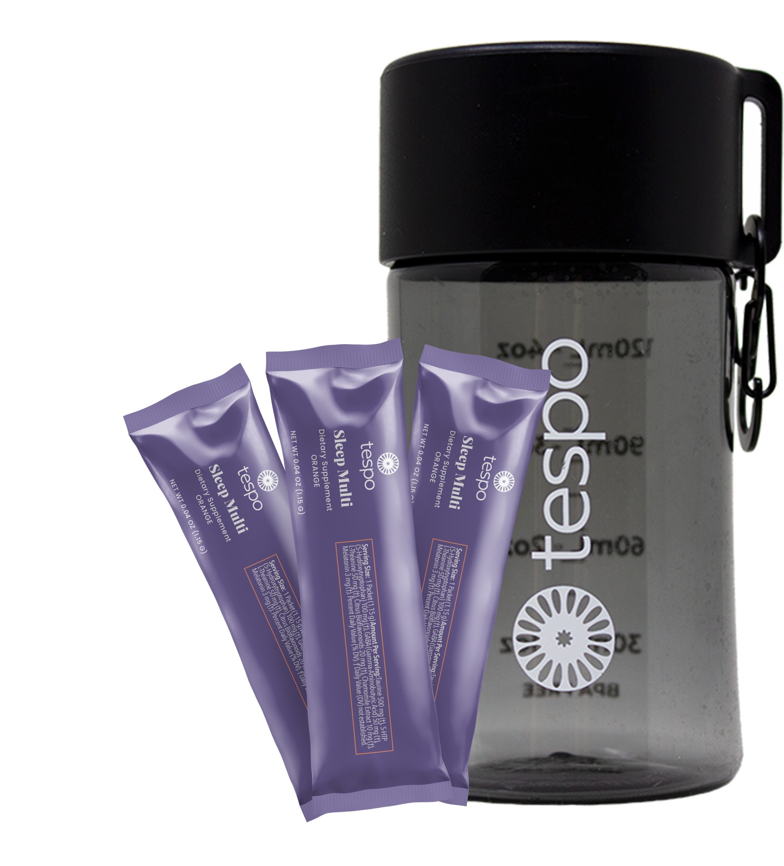 """Featured image for """"6 Count Sample Pack Tespo® Sleep & Go Bottle"""""""